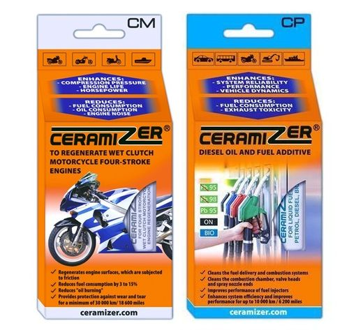 OFFRE DECOUVERTE CERAMIZER MOTO 4TEMPS + CERAMIZER CARBURANT